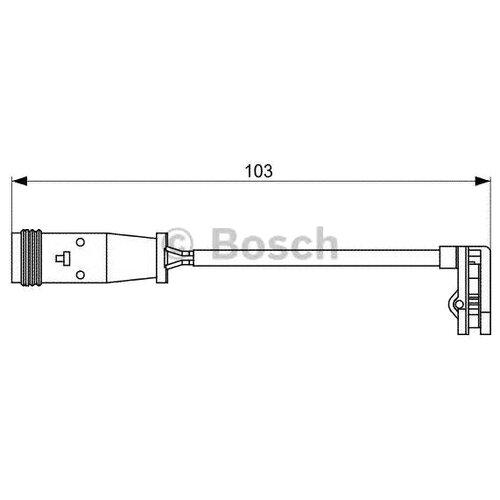 Датчик износа тормозных колодок передний Bosch 1987473037 для Mercedes-Benz, Volkswagen