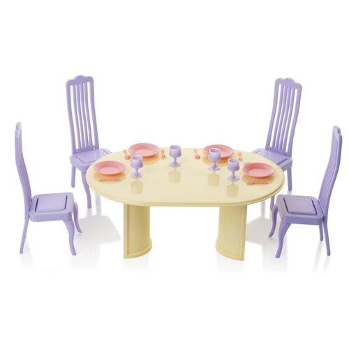Мебель для кукол Огонек Столовая