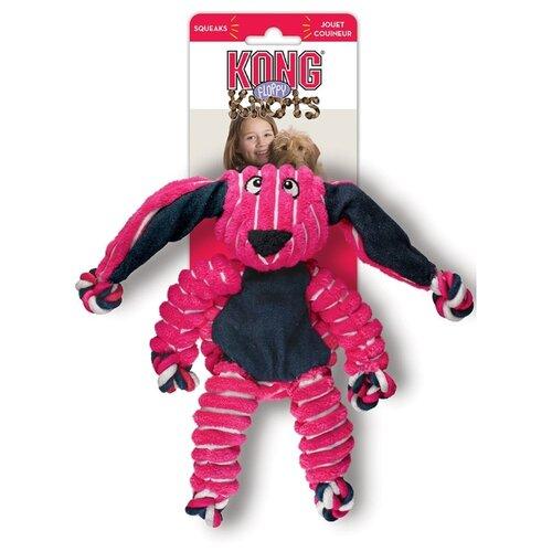 Kong Игрушка для собак Floppy Knots Кролик малый 23х14 см