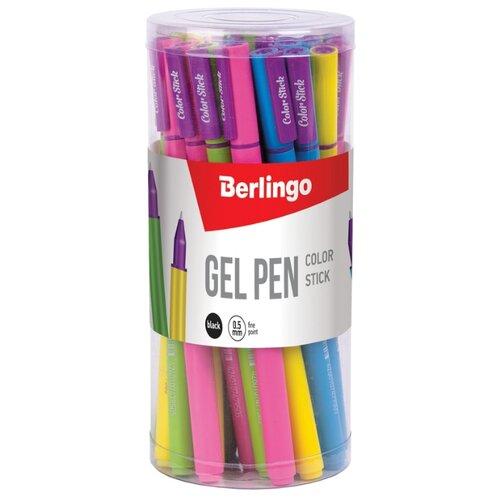 Купить Berlingo Набор гелевых ручек Color Stick, 0.5 мм, 32 шт, черный цвет чернил, Ручки
