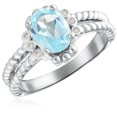 Бронницкий Ювелир Кольцо из серебра R-DRGR00742-T, размер 17 бронницкий ювелир кольцо из серебра s85610001 размер 17 5
