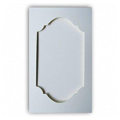 Заготовка для создания открыток Лоза 9.6x16.2 см, 1 шт, тройная Фигурная 1