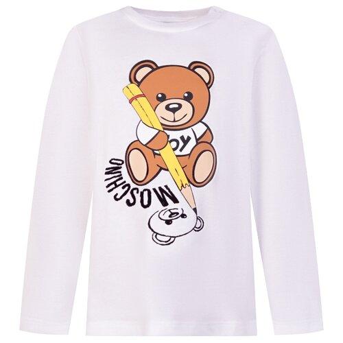 Купить Лонгслив MOSCHINO размер 68-74, белый, Футболки и рубашки