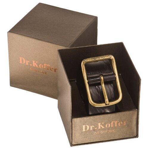 Ремень Dr.Koffer R033V02120-147, черный, 120 см