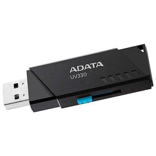 Фото - Флешка ADATA UV330 32 GB, черный флешка patriot memory xporter pulse 32 gb черный