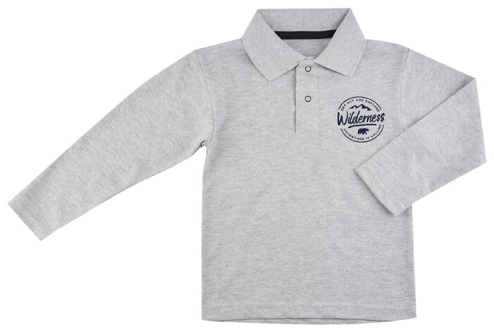 Поло ДО (Детская одежда) размер 122-128, меланж