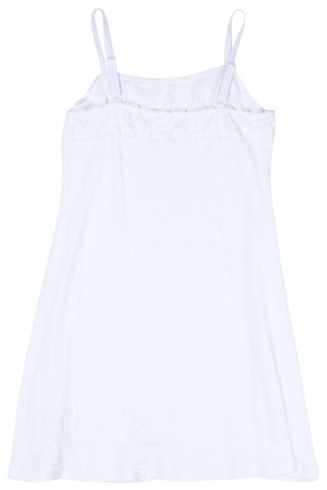 Сорочка playToday размер 140, белый