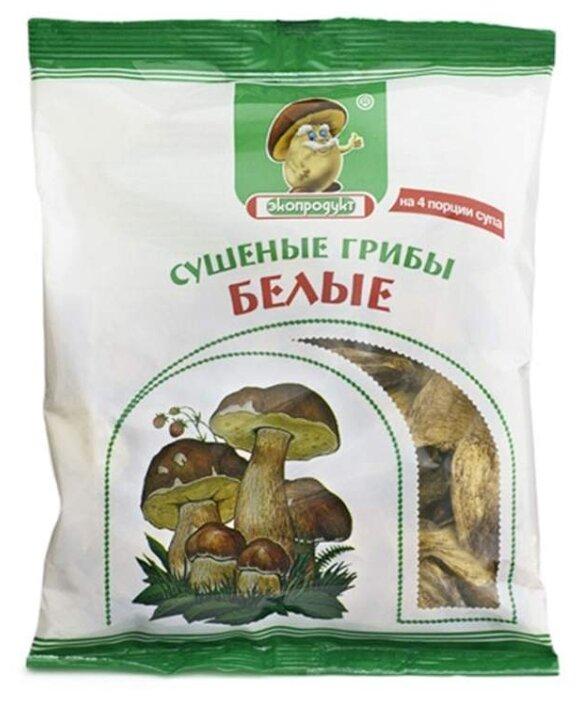 Купить Экопродукт Белые грибы резаные сушеные, флоу-пак (Россия) 50 г по низкой цене с доставкой из Яндекс.Маркета