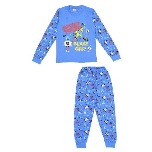 Купить Пижама MisterBanana размер 134-140, голубой, Домашняя одежда