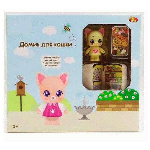 Игровой набор ABtoys Уютный дом. Домик для кошки. Кухня PT-01313