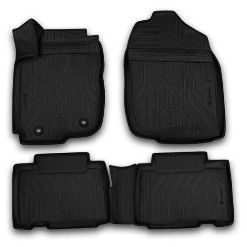 Комплект ковриков ELEMENT CARTYT00007k для Toyota RAV 4 4 шт. черный