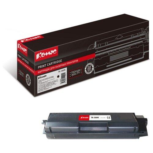 Фото - Картридж лазерный Комус TK-580K черный, для Kyocera FS-C5150DN картридж лазерный комус tk 580k черный для kyocera fs c5150dn