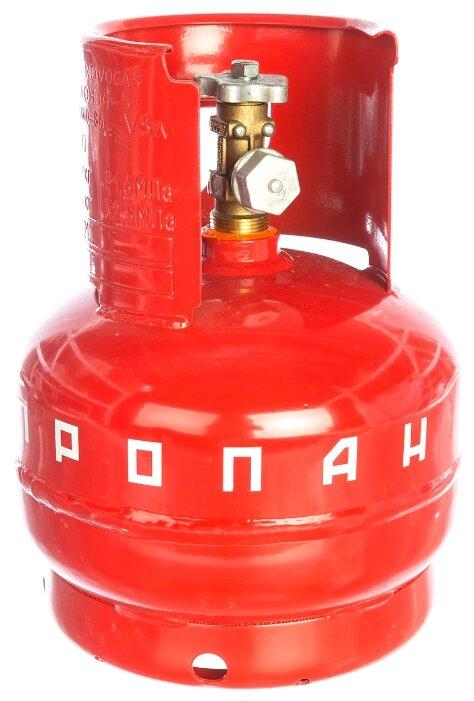 Газовый баллон БАРС СВ000003365 стальной 5 л
