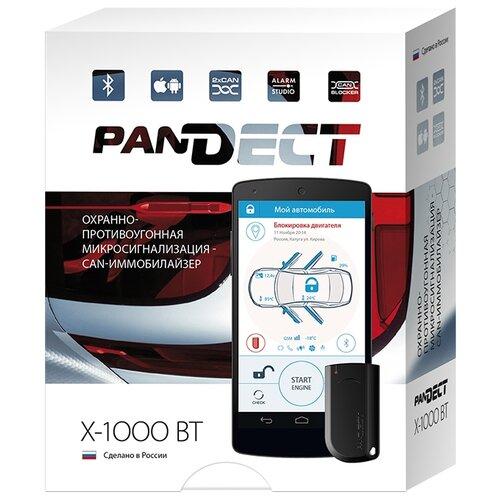 Автосигнализация Pandora Pandect X-1000 BT автосигнализация pandora lx 3030