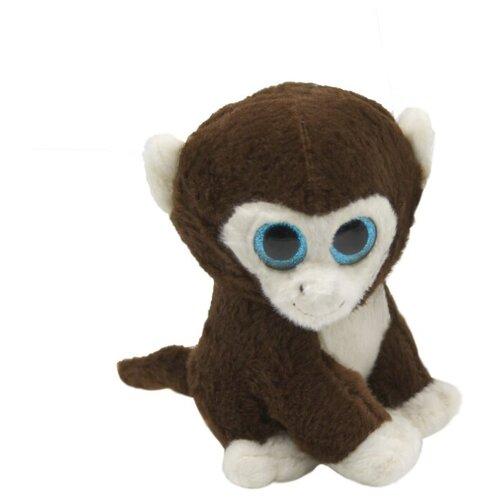 Фото - Мягкая игрушка Пушистые друзья Обезьянка 15 см кмит елена пушистые друзья барашек бяша
