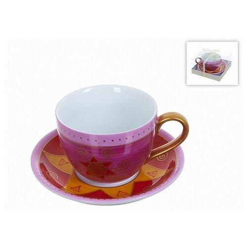 набор чайный best home porcelain indigo 200 мл 4 предмета Чайный набор, 2 предмета Садко, 220 мл (фарфор)