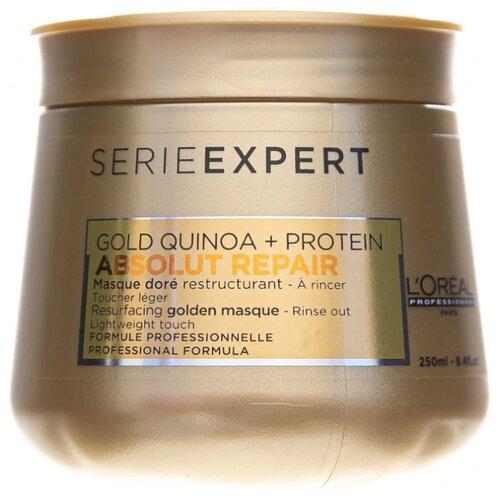 L'Oreal Professionnel Absolut Repair Маска с золотой текстурой для восстановления поврежденных волос, 250 мл l oreal professionnel маска absolut repair голд кремовая для поврежденных волос 250 мл