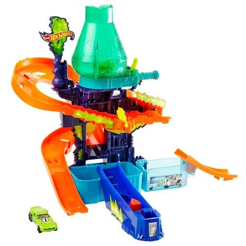 Купить Трек Hot Wheels Color Shifters: Цветная Лаборатория CCP76, Детские треки и авторалли