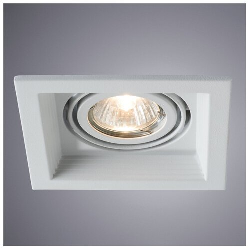 Встраиваемый светильник Arte Lamp Canis A6661PL-1WH canis xl