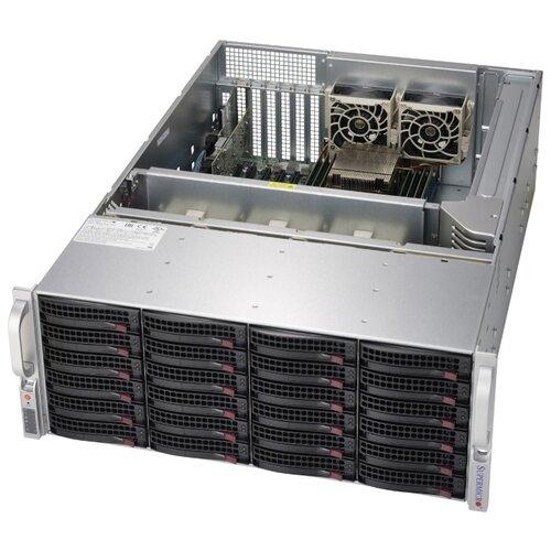 Сервер Supermicro SuperStorage 6049P-E1CR24H без процессора/без ОЗУ/без накопителей/количество отсеков 3.5\