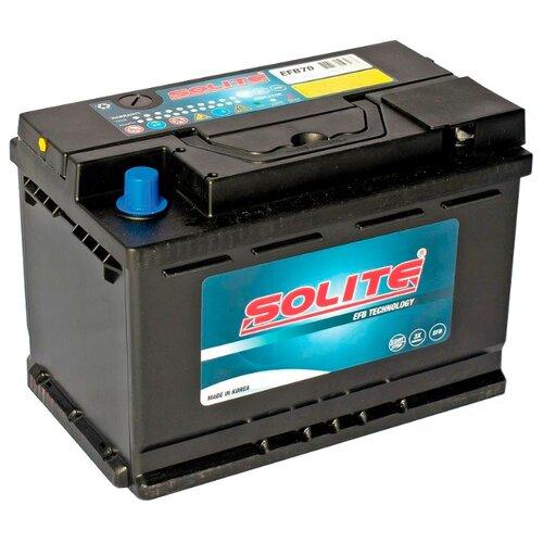 Аккумулятор Solite EFB 70.