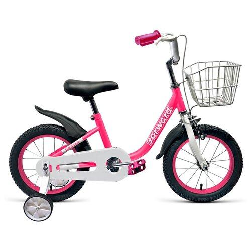 Детский велосипед FORWARD Barrio 14 (2019) розовый (требует финальной сборки) el barrio úbeda