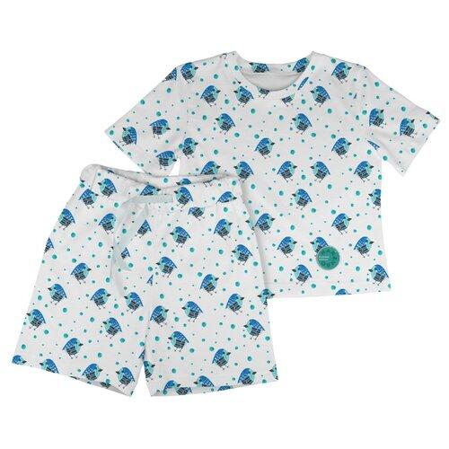 Пижама Marengo Textile размер 122, белый