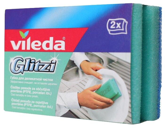 Губка для посуды Vileda Глитци 2 шт