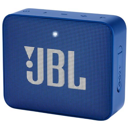 цена на Портативная акустика JBL GO 2 Plus blue