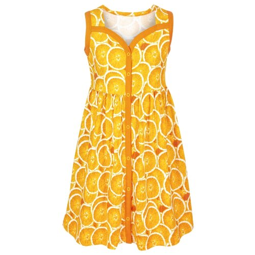 Купить Платье M&D размер 110, оранжевый, Платья и сарафаны