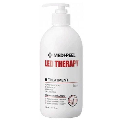 Купить MEDI-PEEL LED Therapy Treatment Восстанавливающая маска для волос с пептидами, 500 мл