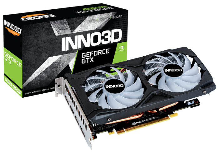Видеокарта INNO3D GeForce GTX 1660 SUPER 1815MHz PCI-E 3.0 6144MB 14000MHz 192 bit 3xDisplayPort HDMI HDCP TWIN X2 OC RGB — купить по выгодной цене на Яндекс.Маркете