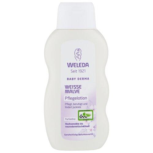 Weleda Детское молочко для гиперчувствительной кожи тела с алтеем, 200 мл weleda детское молочко для гиперчувствительной кожи тела с алтеем 200 мл
