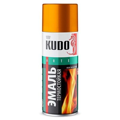 Фото - Эмаль KUDO термостойкая золотой 520 мл эмаль kudo термостойкая
