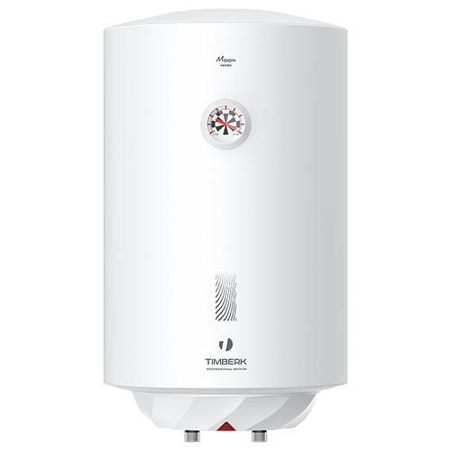 Накопительный электрический водонагреватель Timberk SWH RE17 80 V, белый накопительный водонагреватель timberk swh fsk7 50 v