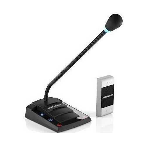 Дуплексное переговорное устройство «клиент-кассир» STELBERRY S-400 c аудиовыходом