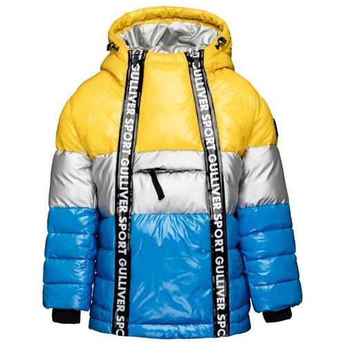 Купить Куртка Gulliver 219FBC4101 размер 122, желтый, Куртки и пуховики
