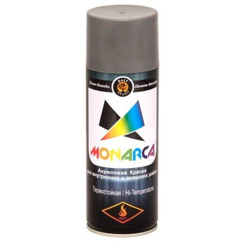 Краска Eastbrand Monarca термостойкая серебряный 520 мл