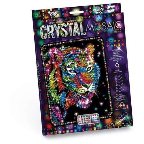 Купить Danko Toys Набор алмазной вышивки Crystal Mosaic Тигр (CRM-01-01), Алмазная вышивка