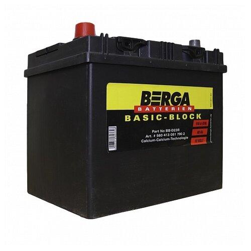 Автомобильный аккумулятор Berga BB-D23R