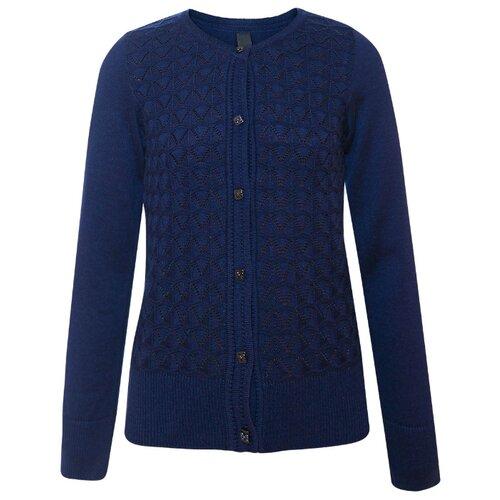 Купить Кардиган Nota Bene размер 158, темно-синий, Свитеры и кардиганы