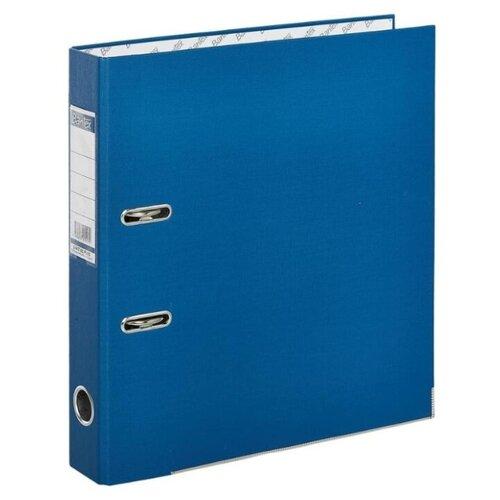 Купить Bantex Папка-регистратор Economy Plus A4, бумвинил, 50 мм синий, Файлы и папки