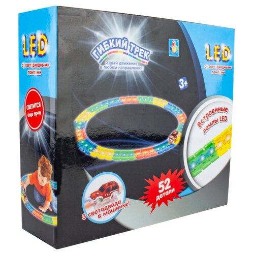Купить Трек 1 TOY LED Т16191, Детские треки и авторалли