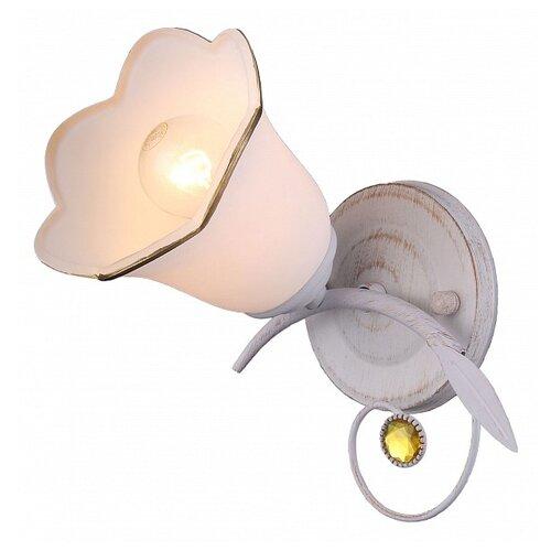 Настенный светильник Natali Kovaltseva 11452/1W WHITE GOLD, 40 Вт natali kovaltseva подвесной светильник natali kovaltseva loft lux 77031 1p gold 40097