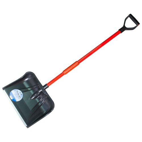 Лопата Землеройка 0223-Лапландия черный/красный 32x44 см