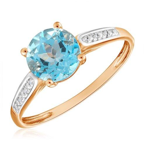 Бронницкий Ювелир Кольцо из красного золота R01-D-69015R001-R17, размер 17 бронницкий ювелир кольцо из красного золота r01 d 1983089ab r17 размер 17