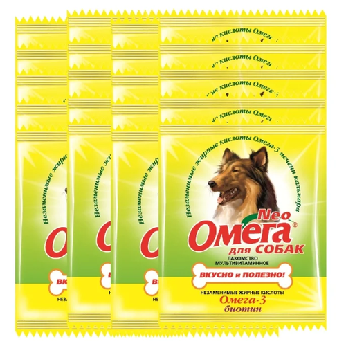 Добавка в корм Омега Neo для собак с биотином 15 таб. х 20 упаковок
