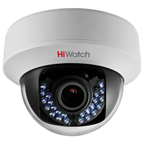 Фото - Аналоговая HDTVI камера 1Мп HiWatch DS-T107 2.8-12ММ 1Мп аналоговая камера hiwatch ds t120 6mm