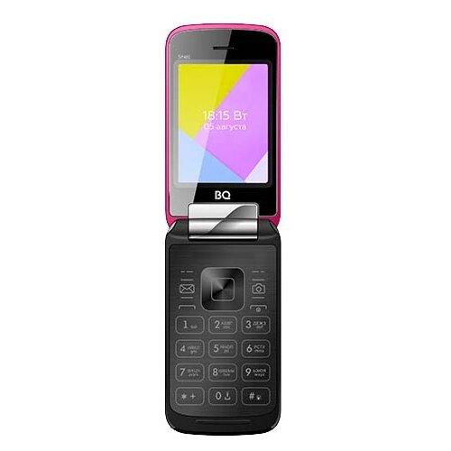 Телефон BQ 2816 Shell розовый телефон