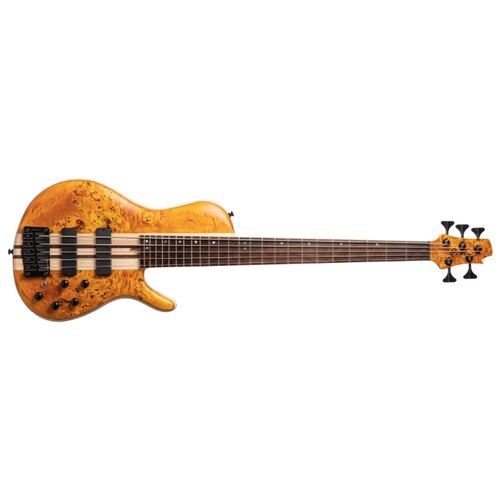 Бас-гитара Cort A5 Plus SC Amber Open Pore